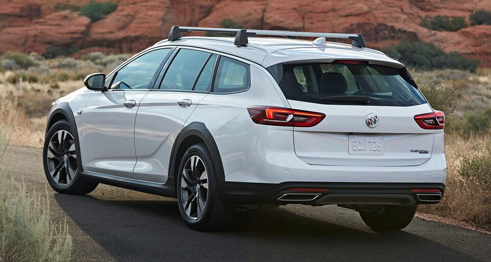 2019 Regal TourX Luxury Wagon Suspension
