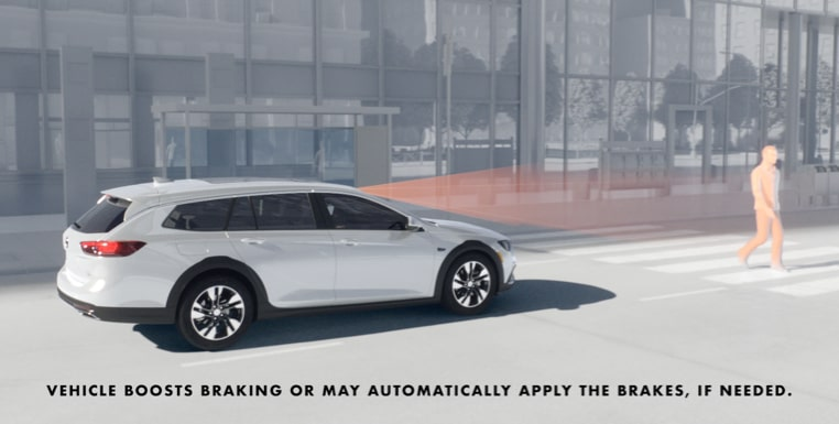 2019 Buick Regal TourX: Front Pedestrian Braking