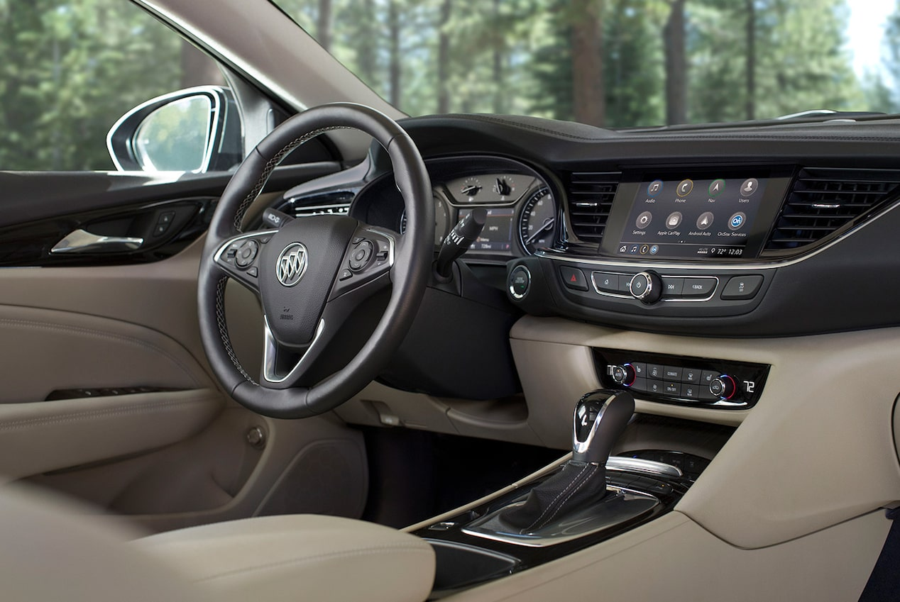 2019 Buick Regal TourX Luxury Wagon Connectivity