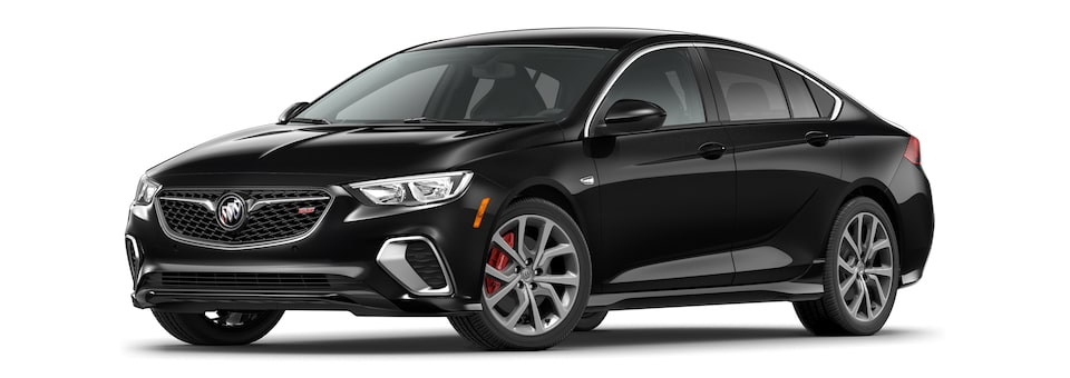 2020 Buick Regal GS Mid-Size Luxury Sedan in ebony twilight metallic