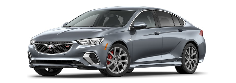 2020 Buick Regal GS Mid-Size Luxury Sedan in satin steel metallic