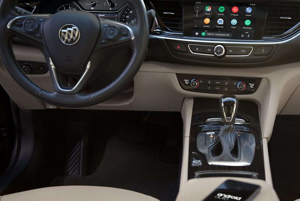 2020 Buick Regal Sportback Sedan Connectivity: Android Auto