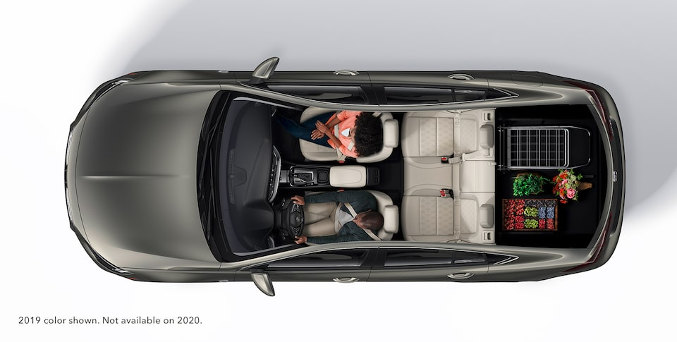 2020 Buick Regal Sportback Sedan Interior: Full Trunk