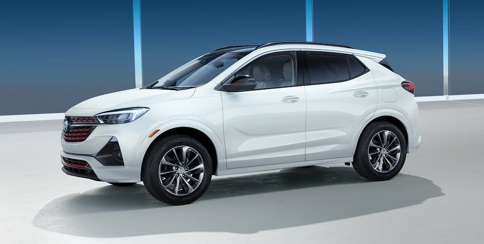 2020 Buick Encore GX Small Luxury SUV Sport Touring Side Profile
