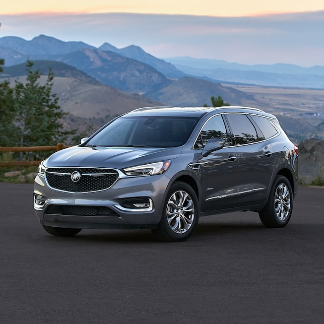 2020 Buick Enclave mid-size luxury SUV MOV Gallery mountain image