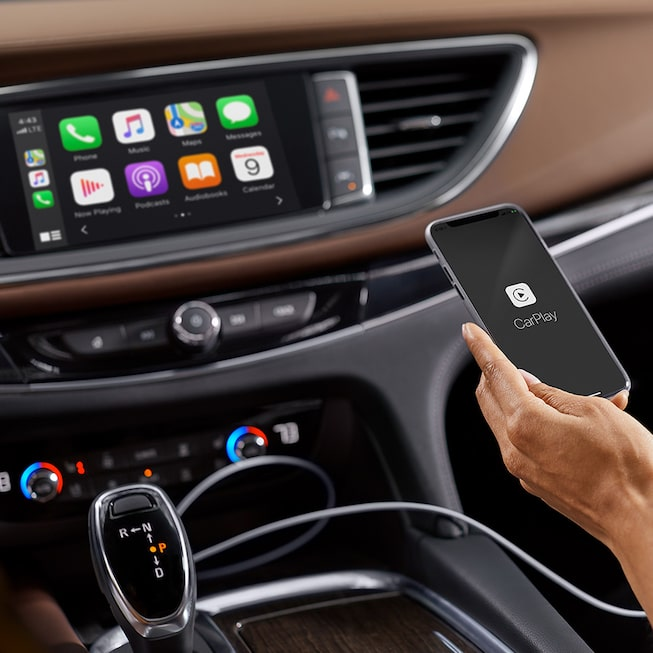 2020 Buick Enclave mid-size luxury SUV MOV Gallery Apple Carplay