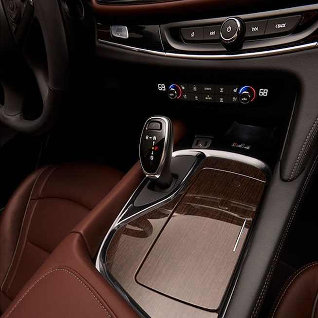 2020 Buick Enclave mid-size luxury SUV MOV Gallery center console