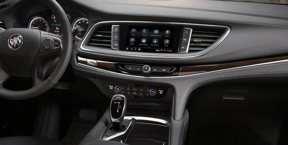 2020 Buick Enclave mid-size luxury SUV Connectivity Features Infotainment Center