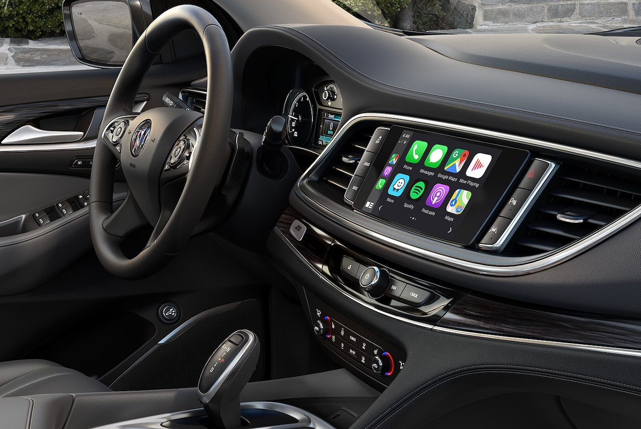 2020 Buick Enclave mid-size luxury SUV Connectivity Features Apple Carplay