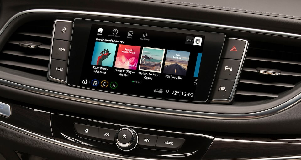 2020 Buick Enclave mid-size luxury SUV Connectivity Features Wifi Hotspot