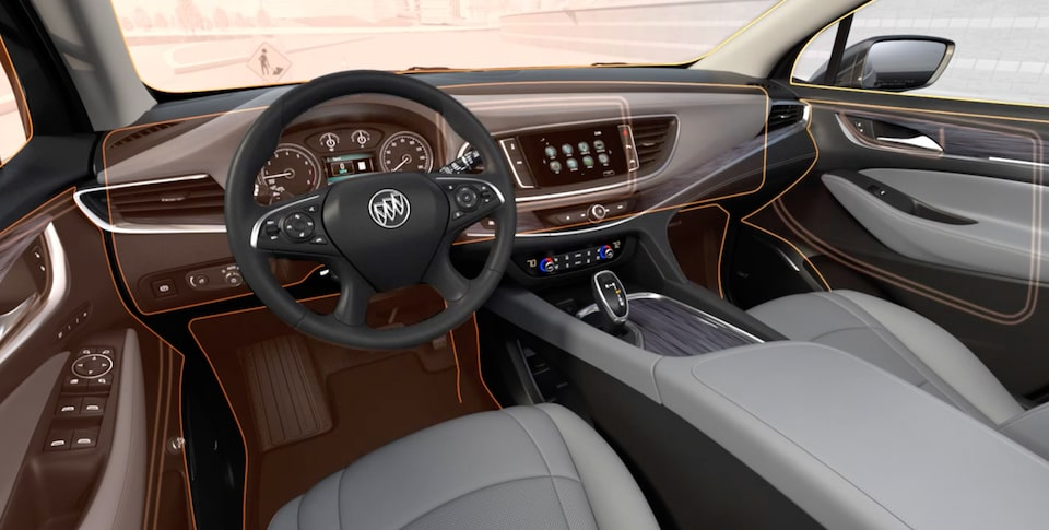 2020 Buick Enclave mid-size luxury SUV Interior Features Quiet Tuning Video Still