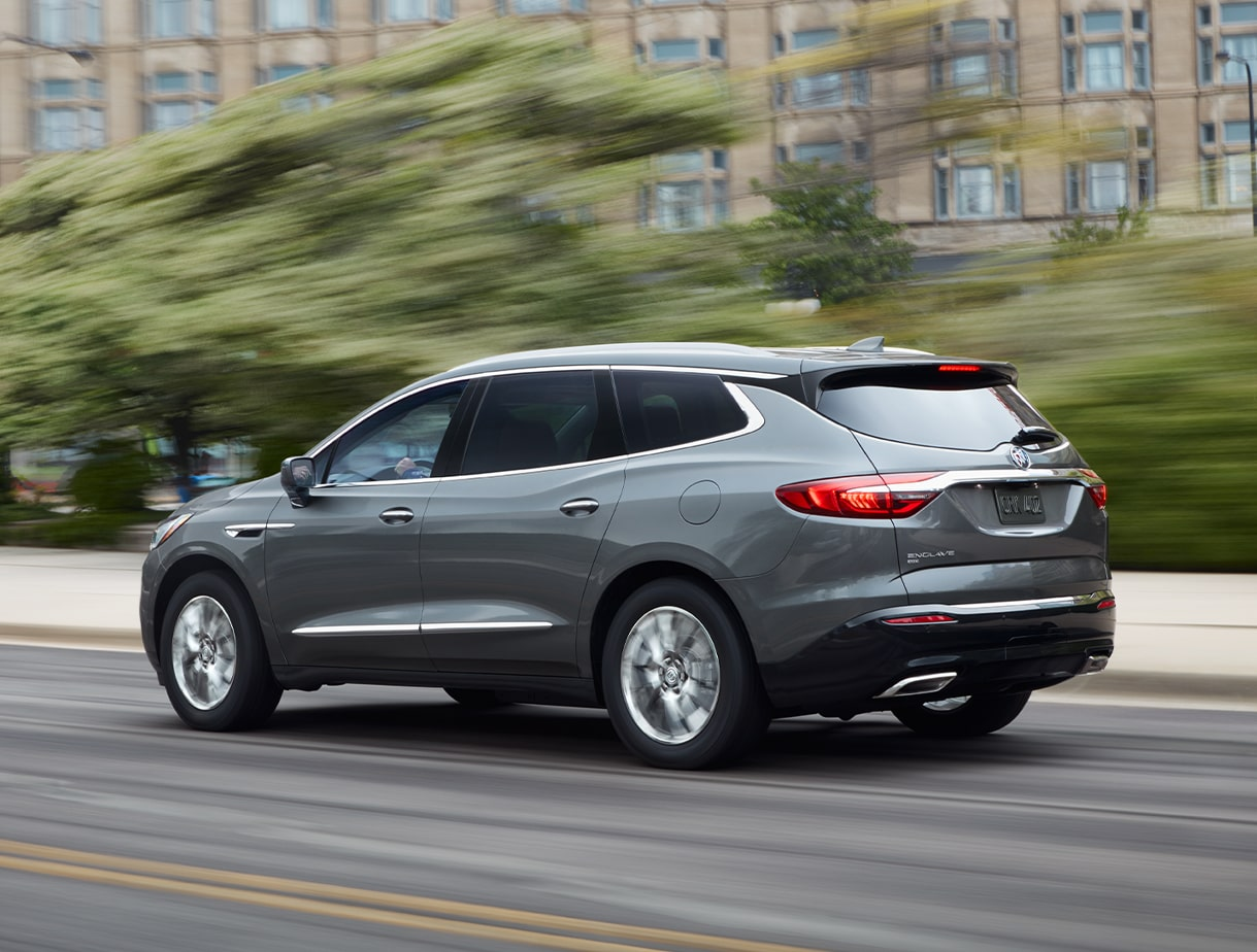 2020 Buick Enclave mid-size luxury SUV Performance Features Road Ahead