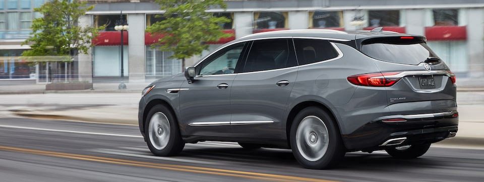 2020 Buick Enclave mid-size luxury SUV Safety Features Masthead image