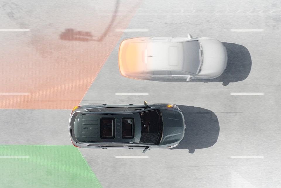 2020 Buick Enclave mid-size luxury SUV Safety Features Blind Zone Alert Video Still