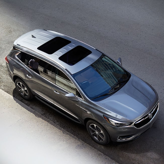 2020 Buick Enclave mid-size luxury SUV MOV Gallery Exterior birds eye view