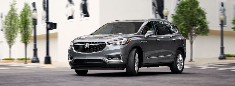 2020 Buick Enclave mid-size luxury SUV MOV Masthead Image