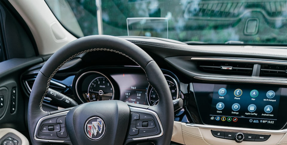 2020 Buick Encore GX Small SUV Heads Up Display