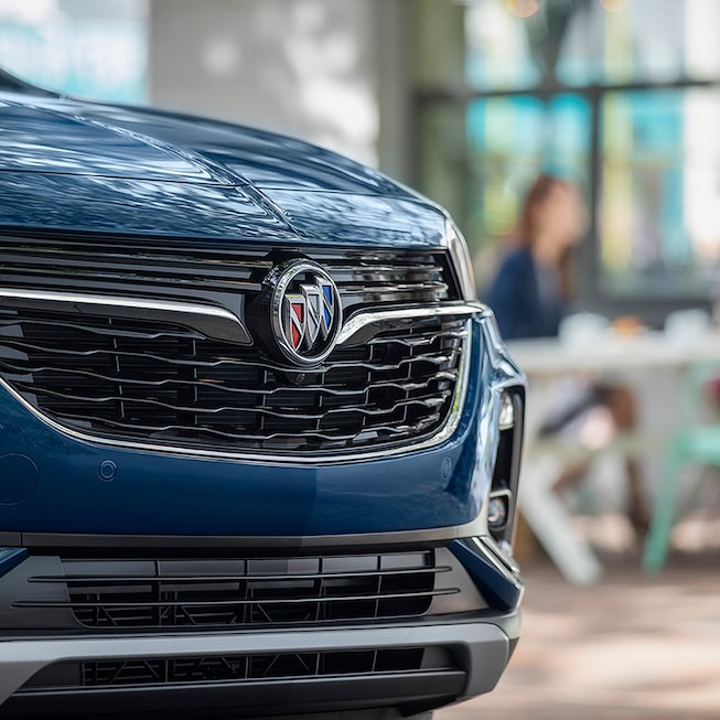 2020 Buick Encore GX Small SUV Grille Close Up