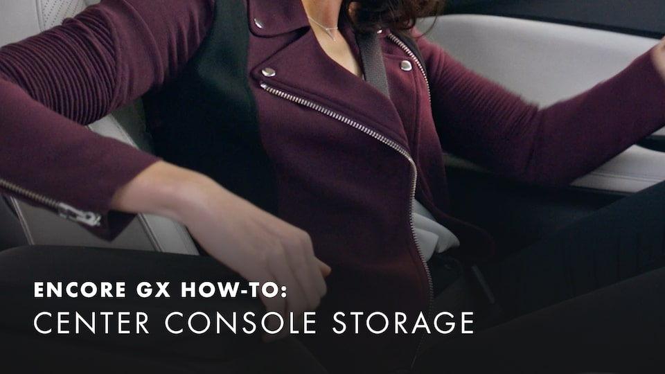 2020 Buick Encore Small Luxury SUV Center Console Storage How-to Video