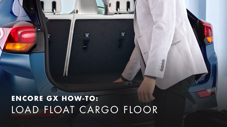 2020 Buick Encore Small Luxury SUV How to Load Cargo Floor Video