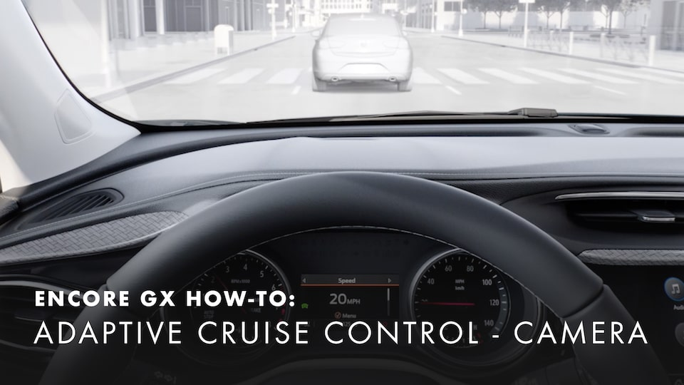 2020 Buick Encore Small Luxury SUV Adaptive Cruise Control How-to Video