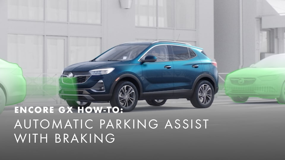 2020 Buick Encore Small Luxury SUV Automatic Parking Assist with Breaking  How-to Video