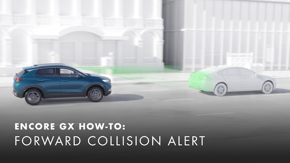 2020 Buick Encore Small Luxury SUV Forward Collision Alert How-to Video