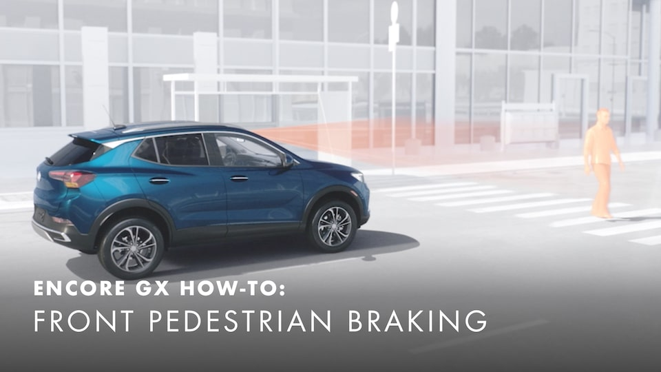 2020 Buick Encore Small Luxury SUV Front Pedestrian Braking How-to Video