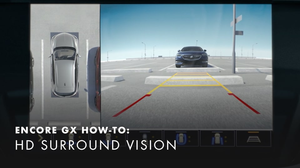2020 Buick Encore Small Luxury SUV High Definition Surround Vision Backup Camera How-to Video