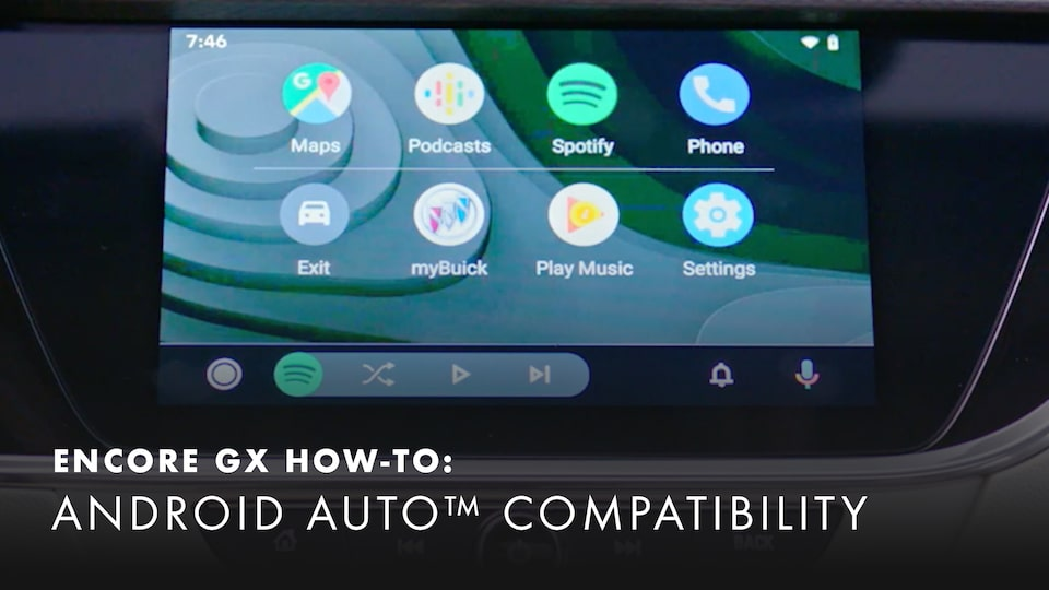 2020 Buick Encore Small Luxury SUV Android Auto Compatibility How-to Video