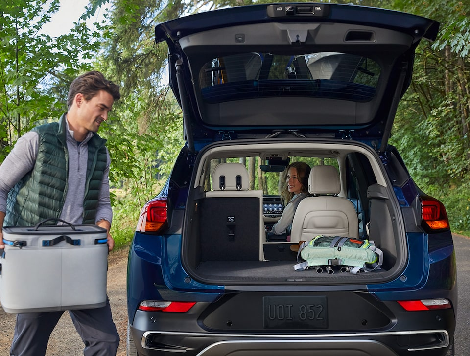 2020 Buick Encore GX Small SUV Rear Cargo Space
