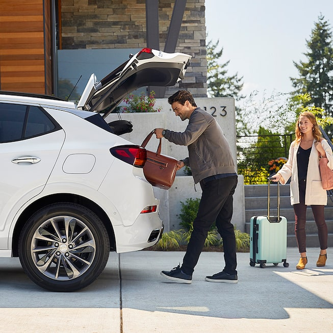 2020 Buick Encore GX Sport Touring Rear Liftgate Open