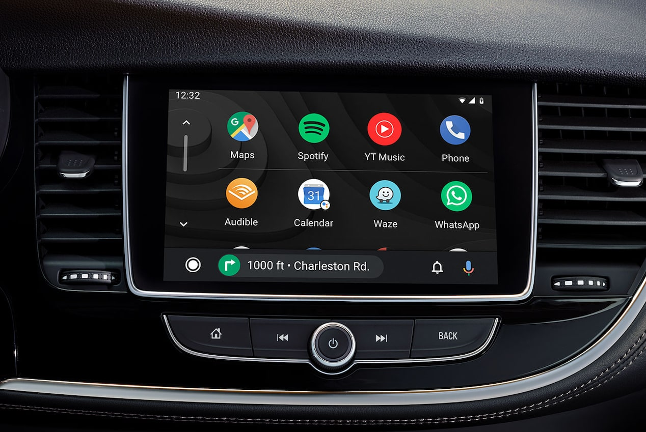 2020 Buick Encore Small Luxury SUV: android auto system with google play music