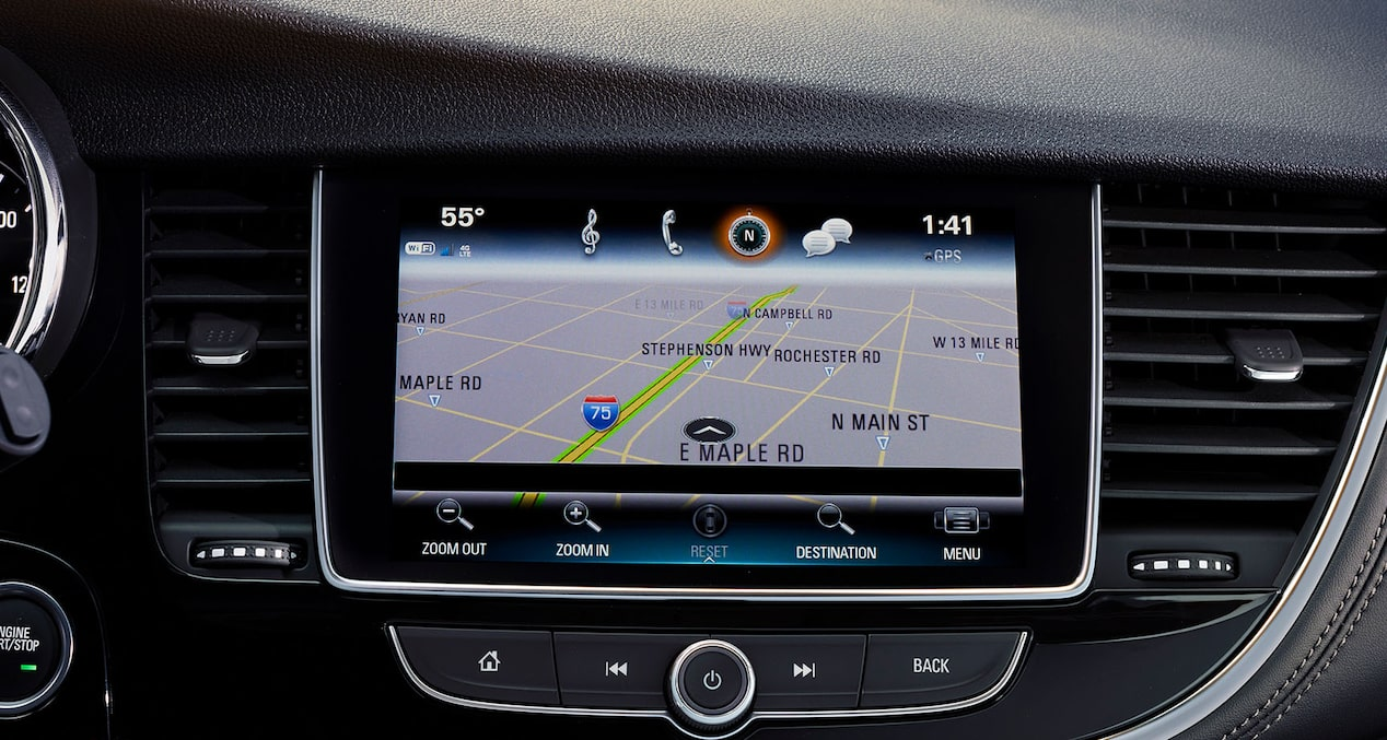 2020 Buick Encore Small Luxury SUV: navigation system