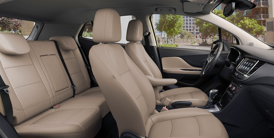 2020 Buick Encore Small Luxury SUV: leather heated seating
