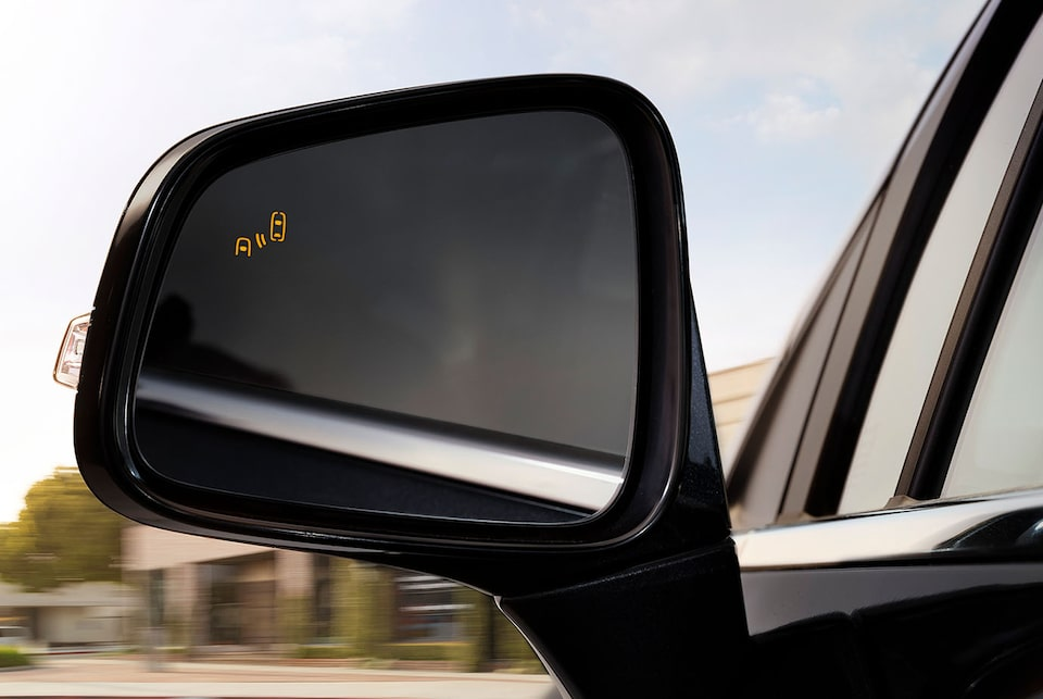 2020 Buick Encore Small Luxury SUV: blind spot safety alert
