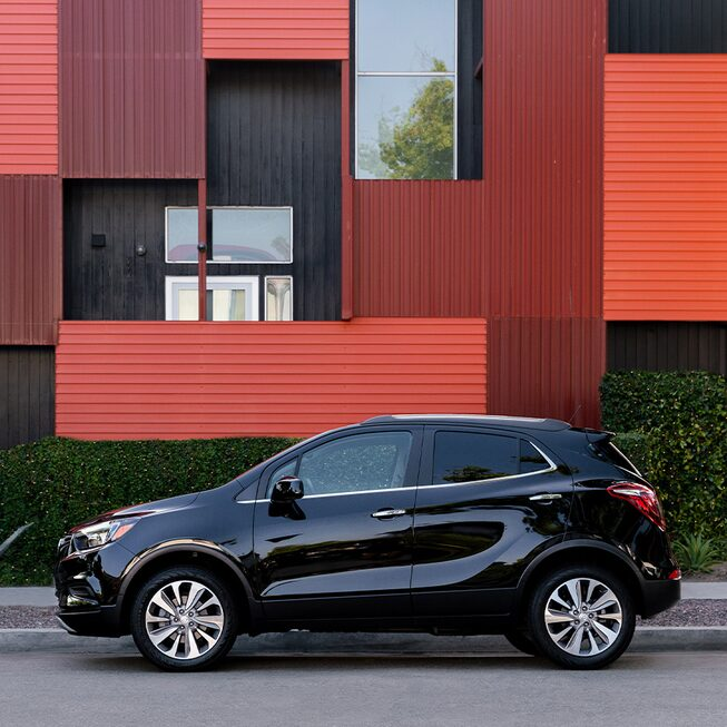 2020 Buick Encore Small Luxury SUV: exterior roof rail