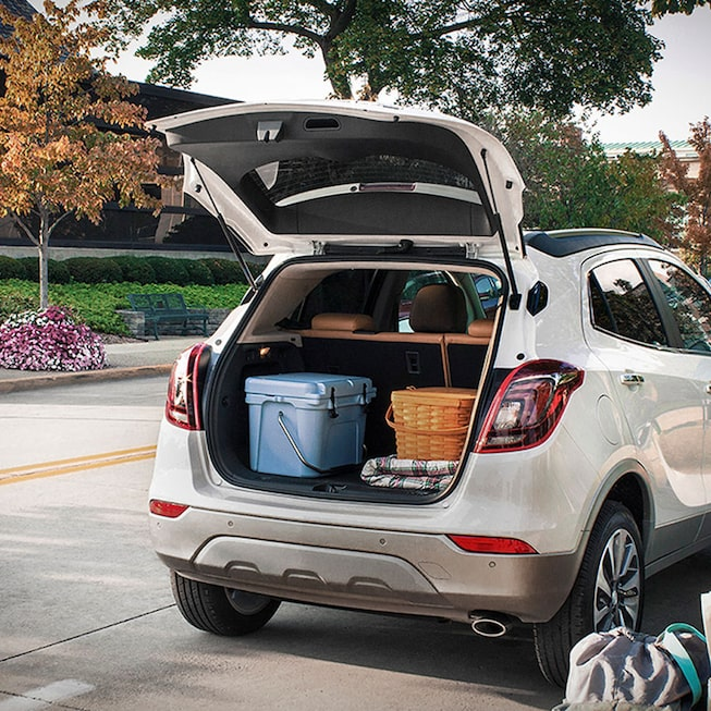 2020 Buick Encore Small Luxury SUV: liftgate