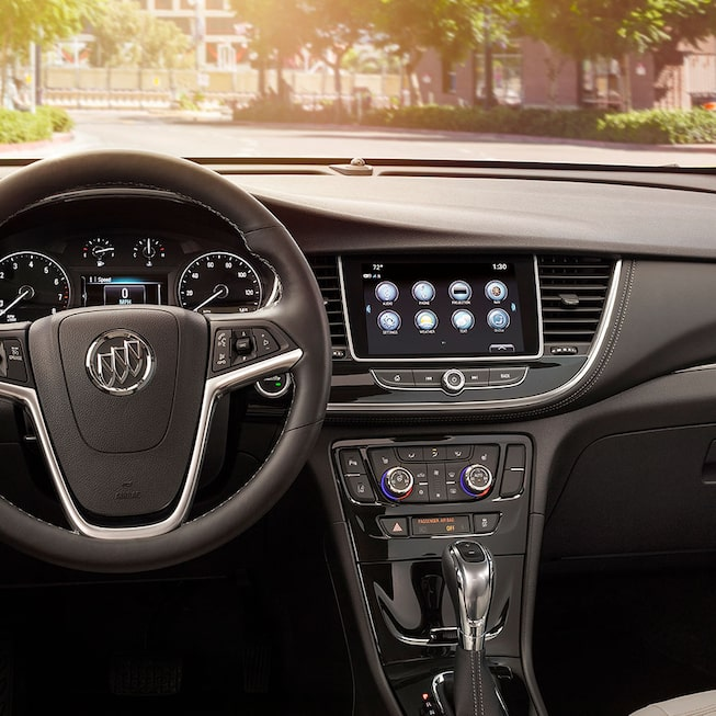 2020 Buick Encore Small Luxury SUV: Steering Wheel and Infotainment