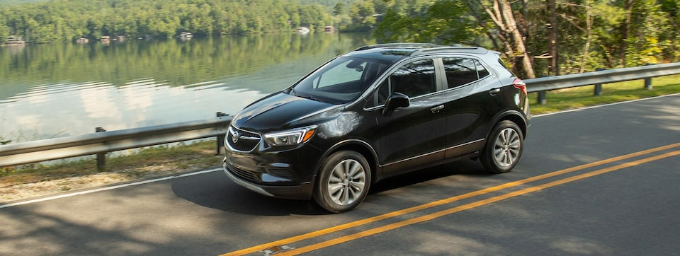 2020 Buick Encore 1SB Small SUV Wide Angle View