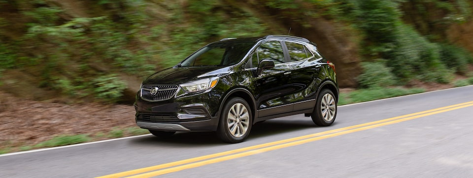 2020 Buick Encore 1SB Small SUV Driving with Safety Features