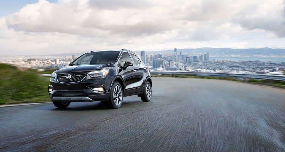 2020 Buick Encore Small Luxury SUV: front exterior