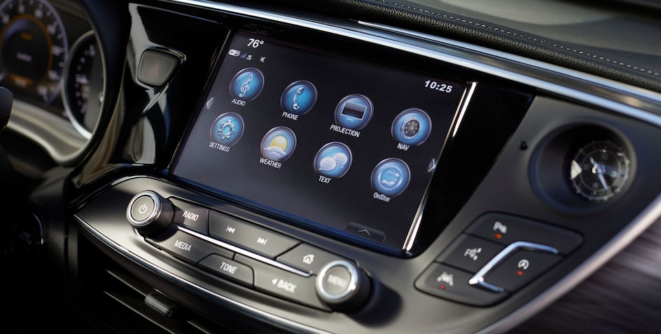 2020 Buick Envision Compact SUV Infotainment Center Touch Screen