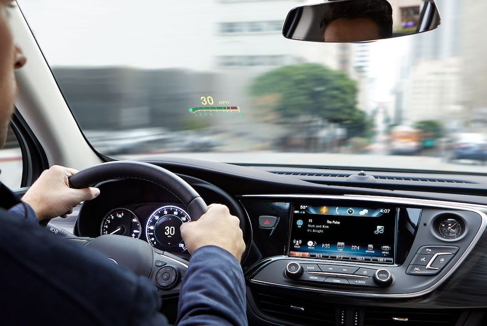 2020 Buick Envision Compact SUV Heads Up Display