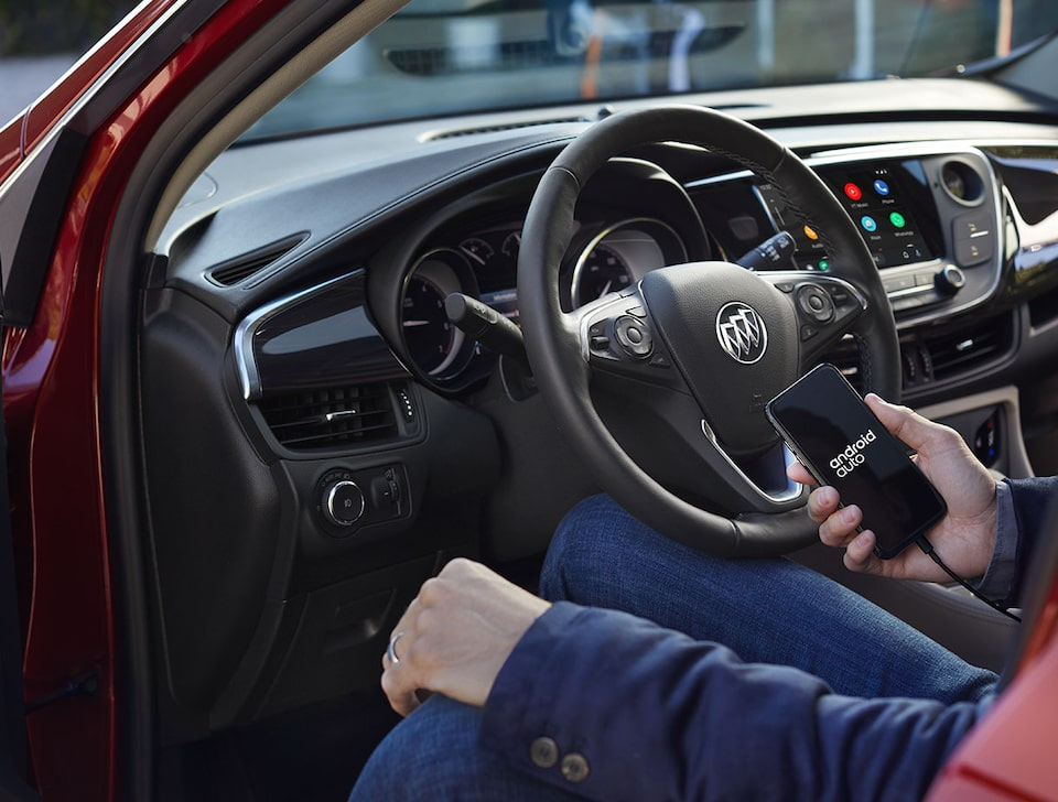 2020 Buick Envision Compact SUV Android Auto