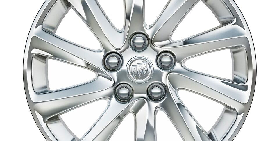 18-Inch 10-spoke Polished Aluminum Wheels