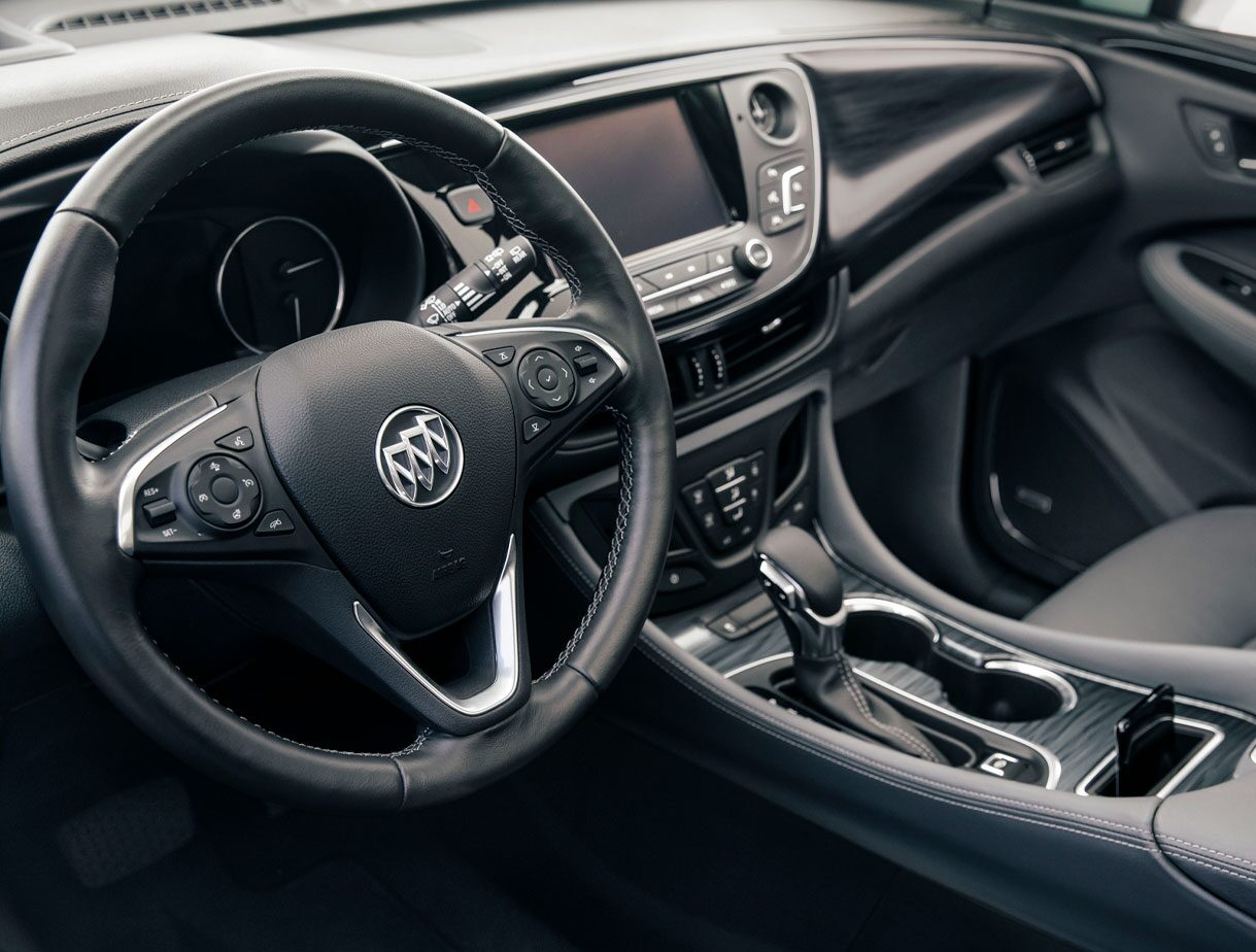 2020 Buick Envision Compact SUV Heated Steering Wheel