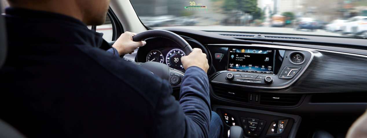 2020 Buick Envision Compact SUV: Man Driving in Front Seat