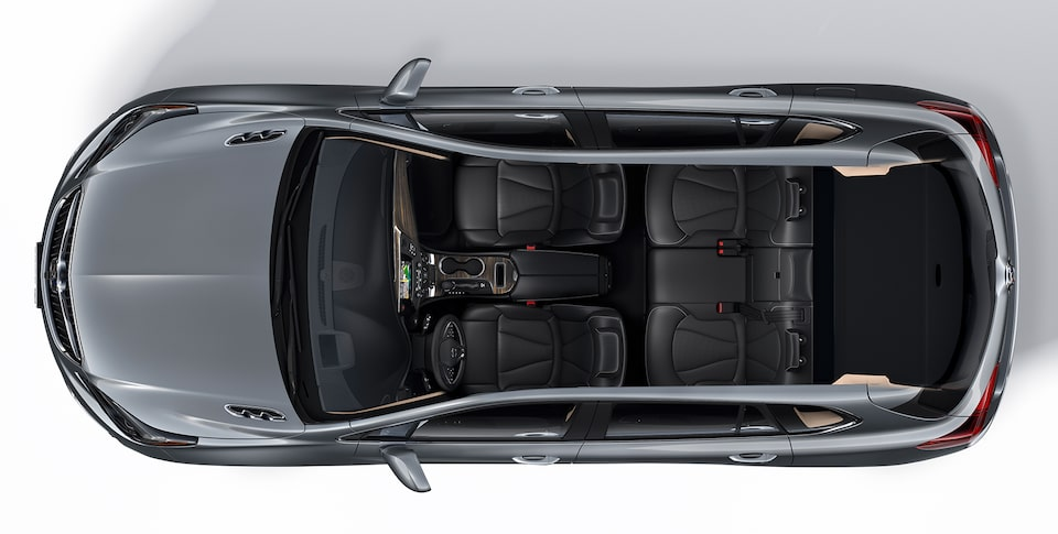 2020 Buick Envision Interior Seating and Cargo Space Aerial View