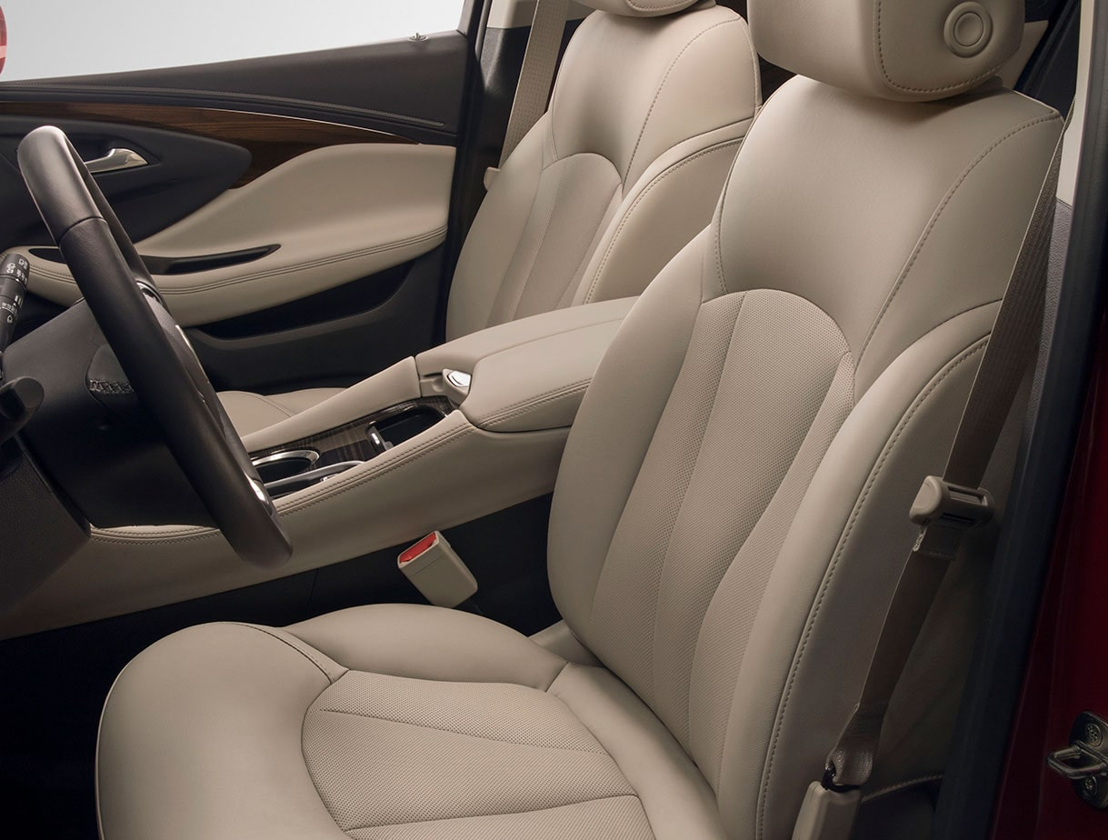 2020 Buick Envision Compact SUV Front Interior Seating